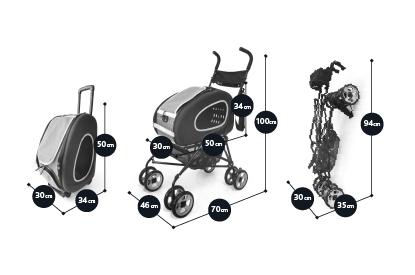 Afbeeldingen van InnoPet® Buggy 5 in 1