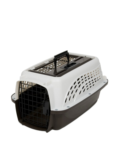 Afbeeldingen van Petmate 2 Door Top Load Kennel XS White